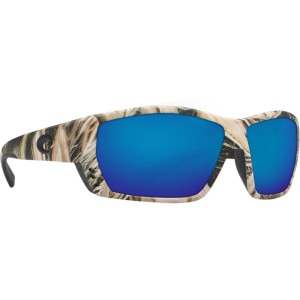 Costa Tuna Alley Mossy Oak Camo Polarized Sunglasses - Costa 400 Glass Lens