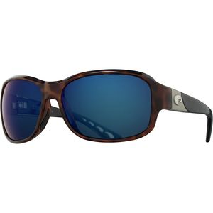 Costa Inlet Polarized 580P Mirrored Sunglasses - Women's