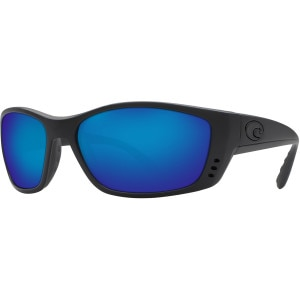 Costa Fisch Blackout Polarized Sunglasses - Costa 580 Glass Lens