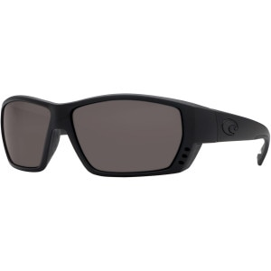 Costa Tuna Alley Blackout Polarized Sunglasses - Costa 580 Polycarbonate Lens