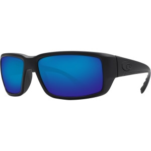 Costa Fantail Blackout Polarized Sunglasses - Costa 580 Glass Lens