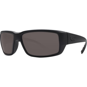Costa Fantail Blackout Polarized Sunglasses - Costa 580 Polycarbonate Lens