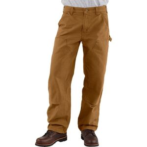 Carhartt Washed-Duck Double-Front Work Dungaree Pant - Men's