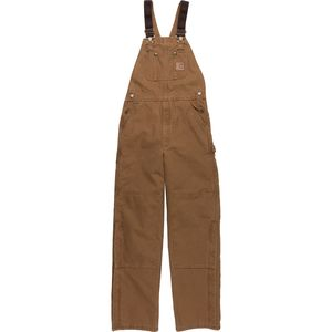 Carhartt Quilt-Lined Sandstone Bib Overall Pant - Men's