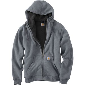 Carhartt Collinston Brushed Fleece Sherpa-Lined Full-Zip Hoodie - Men's