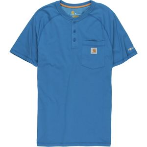 Carhartt Force Cotton Delmont Henley Shirt - Men's