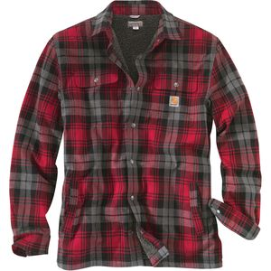 Carhartt Hubbard Sherpa-Lined Shirt Jacket - Men's