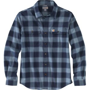 Carhartt Hubbard Flannel Long-Sleeve Shirt - Men's