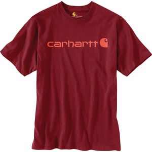 Carhartt Signature Logo Short-Sleeve T-Shirt - Men's