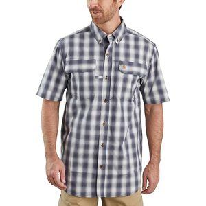 Carhartt Force Short-Sleeve Button-Front Plaid Shirt - Mens