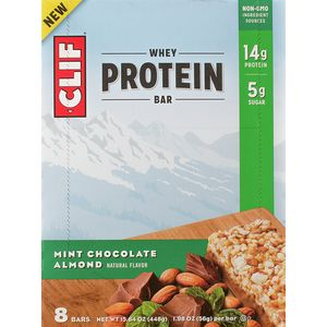 Clifbar Whey Protein Bars - 8-Pack