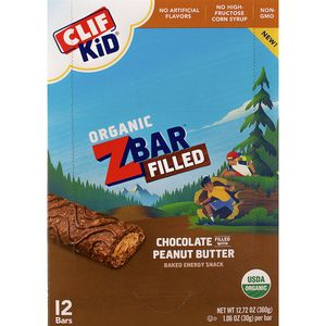 Clifbar ZBar Filled  - 12-Pack