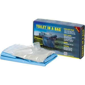 Cleanwaste Toilet In A Bag - 15 Pack