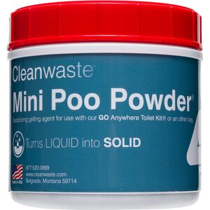 Cleanwaste Mini 55-Use Poo Powder Waste Treatment