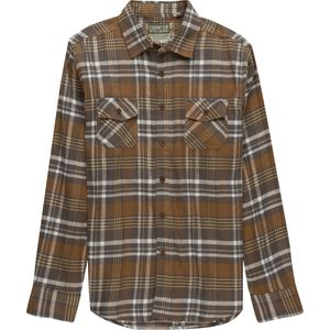 Counter Intelligence Flannel Button Down Shirt - Men's