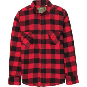 Counter Intelligence Buffalo Plaid Flannel Shirt - Men's