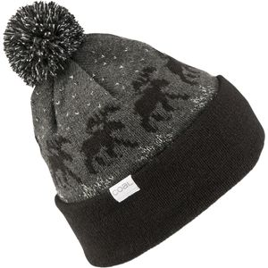 Coal Lodge Pom Beanie