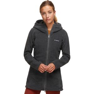 Columbia Benton Springs II Long Hooded Fleece Jacket - Women's ...