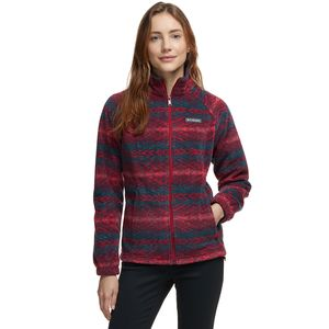 Columbia Benton Springs Print Full-Zip Fleece Jacket - Women's