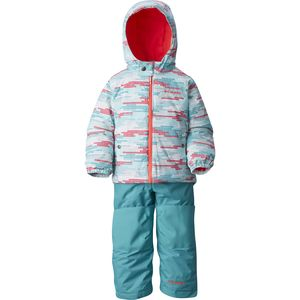 Columbia Frosty Slope Snow Suit Set - Toddler Girls'