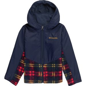 Columbia Steens Mt Overlay Hooded Fleece Jacket - Toddler Boys'