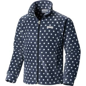 Columbia Benton Springs II Printed Fleece Jacket - Toddler Girls'
