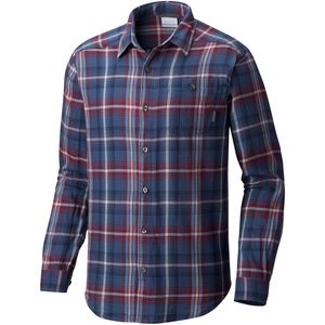 Columbia Cornell Woods Long-Sleeve Flannel Shirt - Men's