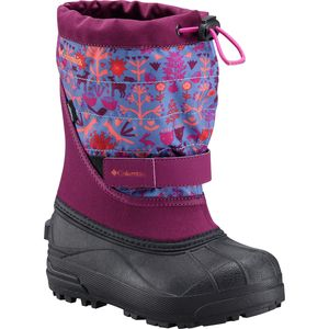 Columbia Powderbug Plus II Print Boot - Toddler Girls'