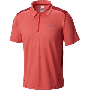 Columbia Titan Ice Zip Polo Shirt - Men's