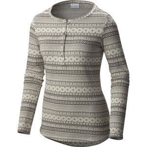 Columbia Aspen Lodge Jacquard Henley Shirt - Women's