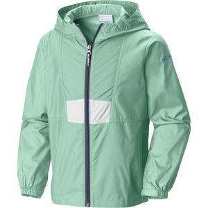 Columbia Flashback Full-Zip Windbreaker Jacket - Toddler Girls'