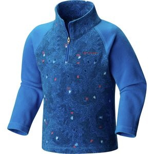 Columbia Glacial II Print Half-Zip Fleece Jacket - Toddler Boys'