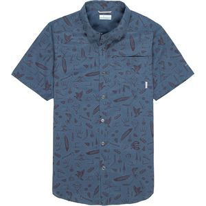 Columbia Pilsner Peak Print Shirt - Men's
