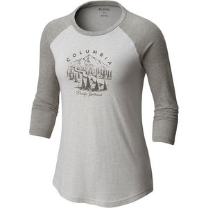 Columbia PNW Mount Tabor Baseball T-Shirt - Womens' - Womens'