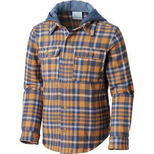 Columbia Boulder Ridge Flannel Hooded Shirt - Boys'
