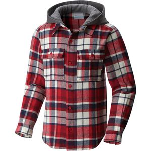 Columbia Boulder Ridge Flannel Hooded Shirt - Long-Sleeve - Boys'