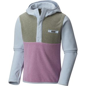 Columbia Mountain Side Fleece Hooded Jacket - Girls'