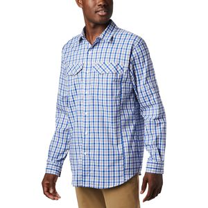 Columbia Silver Ridge Lite Plaid Long-Sleeve Shirt - Men's