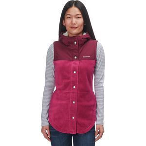 Columbia Benton Springs Overlay Fleece Vest - Women's