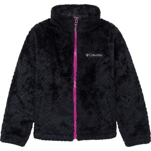 Columbia Fluffy Fleece Full-Zip Jacket - Girls'