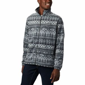 Columbia Steens Mountain Print Fleece Jacket - Men's