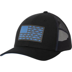 Columbia PFG Mesh Fish Flag Snap Back Trucker Hat