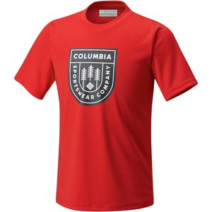 Columbia Badge N Flag Short-Sleeve Shirt - Boys'