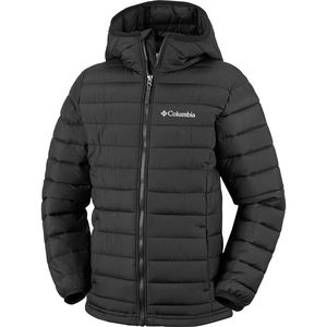 Columbia Powder Lite Hooded Insulated Jacket - Boys'