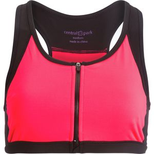 Central Park Active Zip-Front Sports Bra - Women's