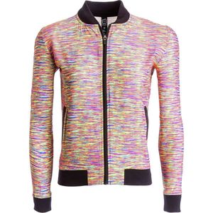 Central Park Active 1234 Space Dye Bomber Jacket - Women's