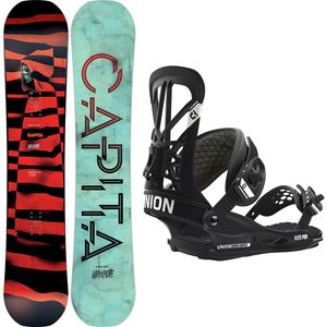 Capita Horrorscope FK Snowboard with Union Flite Pro Bindings