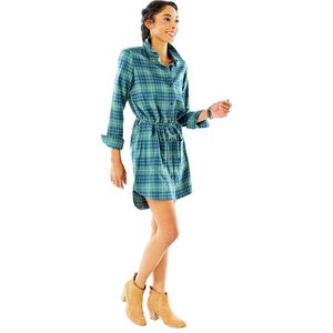 Carve Designs Creston Flannel Dress - Women's