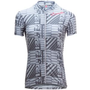 Castelli Bellissima Sentimento Full Zip Jersey - Short Sleeve - Women's