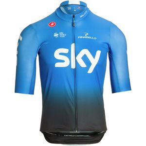 Castelli TEAM SKY Squadra Full-Zip Jersey - Men's